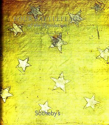Sotheby's New York NY Four Battleflags of the Revolution June 14 2006 Catalog