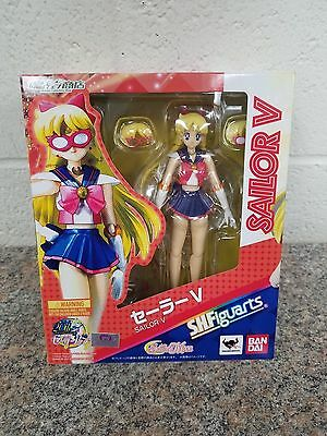 Sailor V S.H.Figuarts Bandai Action Figure 20th Anniversary New Sealed