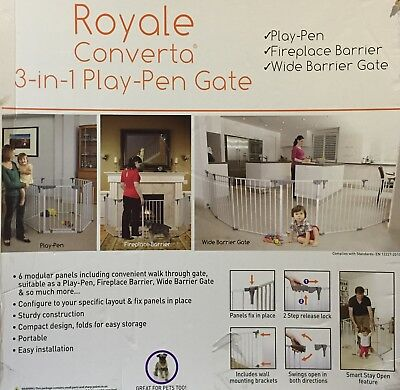 Dreambaby Royal Coverta 3 In 1 Play Pen Laufgitter  Kinderlaufstall