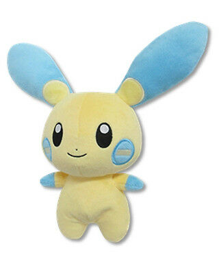 "Sanei All Star Collection Pokemon Sun & Moon 6.5"" Stuffed Plush Doll PP70 Minun"