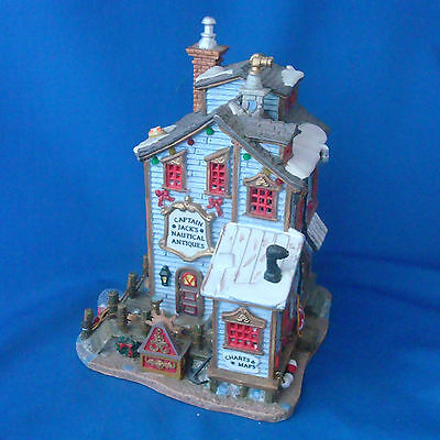 Lemax Christmas Village Captain Jack's Nautical Antiques Store 2003