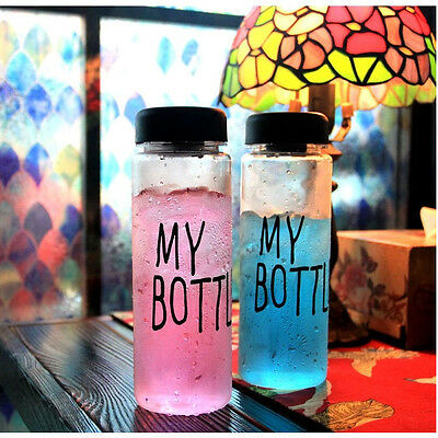 500ml Drinks Fruit Juice Water Cup Cute My Bottle Tumbler for Sport/Travel New
