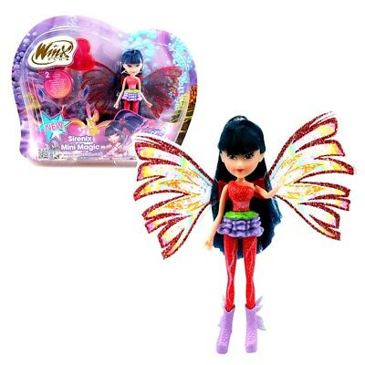 Winx Club - Sirenix Mini Magic Puppe - Fee Musa mit Verwandlungsfunktion
