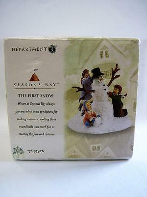 Dept 56 Seasons Bay The First Snow #53426 (a2497)