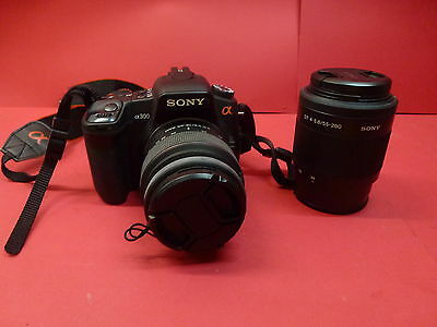 Sony Alpha  DSLR A300 Digital Camera Bundle