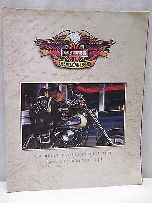 Vintage Harley Davidson Motorclothes and Collectibles Fall & Winter Catalog 1991
