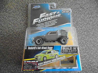 Fast & Furious Deckard's Fast Attack Buggy Die Cast Build N' Collect Movie JADA