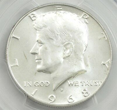 1968-D Kennedy Half Dollar - PCGS MS65 - Certified & Graded 50c Silver Coin