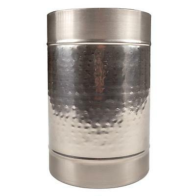 Modern Hammered Brass Champagne Ice Bucket