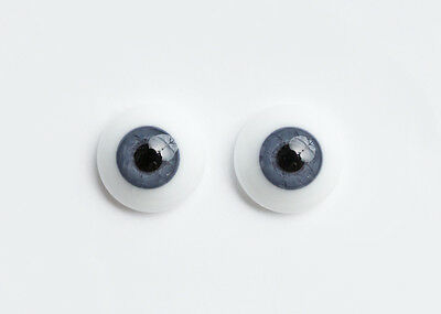 ~GeRMaN SoLiD RoUnD GLaSs EyEs 22MM BaBy BLuE GrAy  ~ REBORN DOLL SUPPLIES 3309