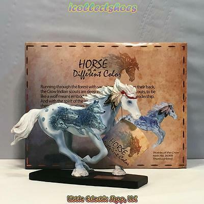 20368 Thoroughbred WOLVES OF THE CROW #627 Resin Horse of a Different Color Fig.
