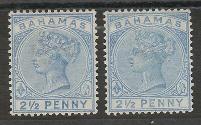 British Colonies & Territories Stamps Bahamas 1884 Qv 5/-