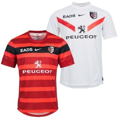 Stadium Toulouse Nike Rugby Fan Jersey Men Training Jersey Sports Shirt NEW