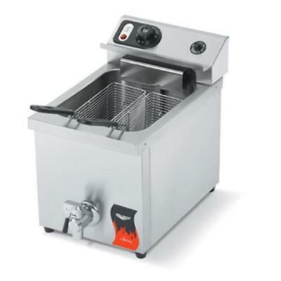 Vollrath - 40709 - Cayenne® Single Countertop Fryer w/Drain