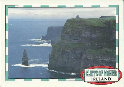 John Hinde Postcard - THE CLIFFS OF MOHER, Co CLARE, IRELAND
