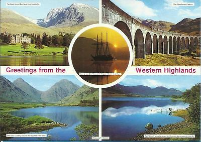 Matassa Postcard -  GREETINGS FROM THE WESTERN HIGHLANDS, SCOTLAND