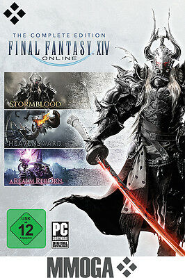 Final Fantasy XIV FF14 Complete Edition Key - PC Online Download Code [DE][EU]