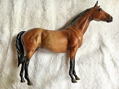 2 Breyer horses One Bay and One Black Classic size