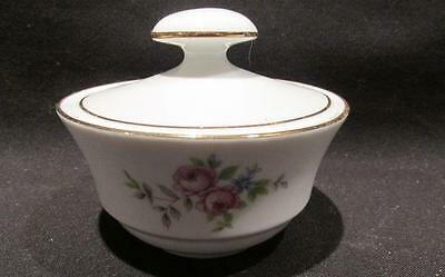 Henneborg Porzellan 1777 German Democratic Republic Covered Dish Rose Motif