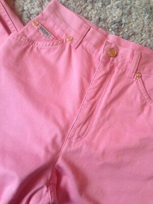 Vintage Pink High Waisted Jeans By Escada 90's Mom Jeans