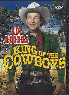 Dvd  Roy Rogers In King Of The Cowboys......smiley Burnette.....new