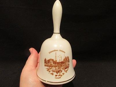 Kincardine Ontario Lovely Vintage Bell with Sepia Harbor View