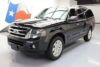 2014 Ford Expedition Limited Sport Utility 4-Door 2014 FORD EXPEDITION EL LIMITED CLIMATE LEATHER NAV 58K #F41802 Texas Direct