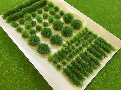 Swamp Green BIG True Tufts mixed Model Scenery Static Grass Natural Railway Wild