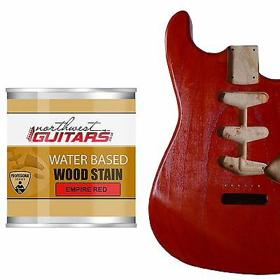 Northwest Guitars Water Based Wood Stain - Empire Red - 250ml