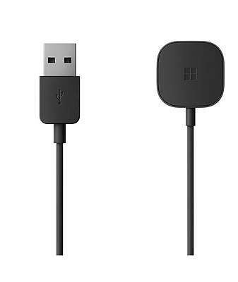 Genuine Microsoft 3.3' USB Charging Cable for Microsoft Band 2 Black MU6-00001