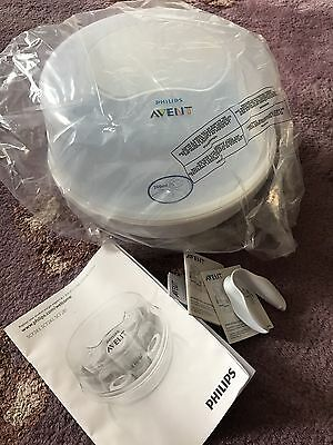 Avent Philips Microwave Baby Steriliser With Box