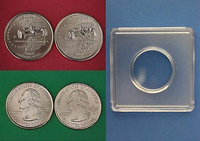 2002 D P Indiana State Quarters With 2x2 Snaps From Mint Set Buy 4 Get 1 FREE