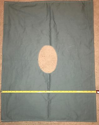 "Surgical Drapes, Double Ply Cotton 25"" X 32"" with hole 5.5"" X 7.5"""