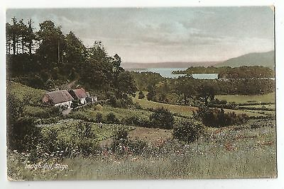 wa irish postcard ireland sligo lough gill