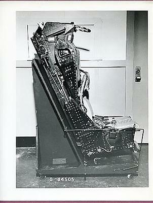 1960s Ejection Seat Official 8x10 Original Photo