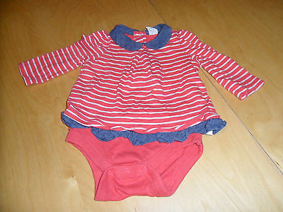 Baby Girls Clothes - GAP Bodysuit / Long Sleeved Vest / Top (3 - 6 Months)