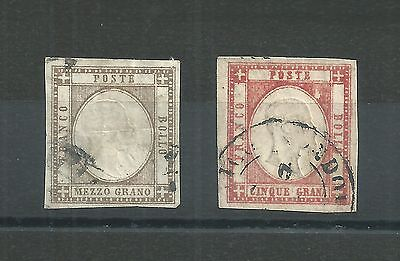 ITALY (Sicilies) #20 & #23 Used--CV $425