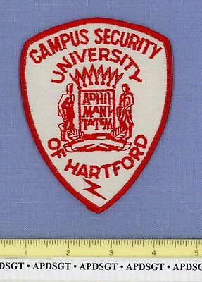 UNIVERSITY of HARTFORD CAMPUS SECURITY CONNECTICUT College School Police Patch