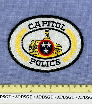 TENNESSEE STATE CAPITOL BUILDING NASHVILLE TN Sheriff Police Patch CAPITAL CITY