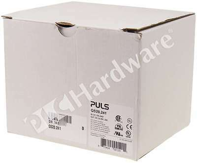 New Puls QS20.241 Power Supply 1-Phase 480W 24-28V DC 20-17A Qty