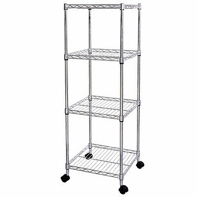 Lifewit Wire Shelf 4 Tiers Adjustable Metal Storage Iron Tower Unit Corner Rack