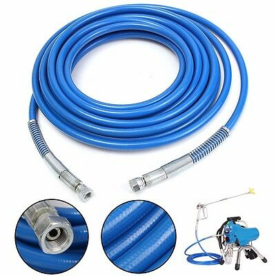 25'/7.62m 1/4'' Airless Paint Spray Sprayer 3300 PSI Hose Tube