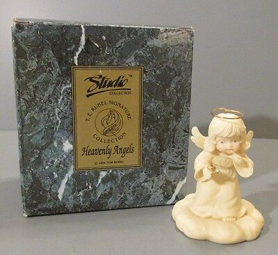"1994 Studio Collection Heavenly Angels ""It's a Secret"" Angel Figurine"