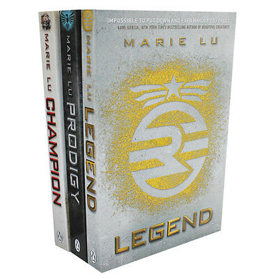 The Legend Trilogy - 3 Book Set by Marie Lu (Paperback), Collections, Brand New