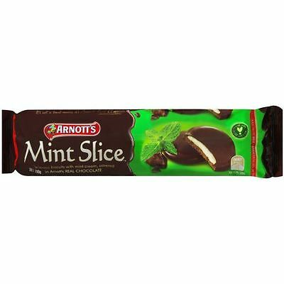 Arnotts Chocolate Mint Slices 200g