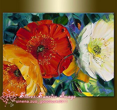 P1639 Modern Floral Oil Painting Botanical Painting Wall Art decor /NO Frame