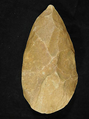 BIG! One Million Year Old Early Stone Age ACHEULEAN Hand Axe Mauritania 1022gr e
