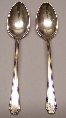 "Vintage Towle Silversmiths - Sterling Silver - ""Lady Constance""  6""  (2) Spoons"