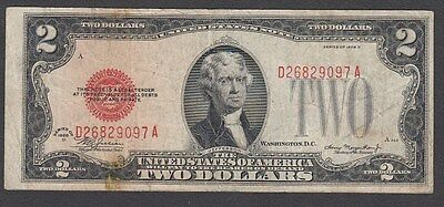 2 Dollars From The United States Of America 1928