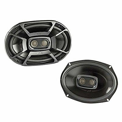 "Polk DB692 6x9"" 450W 3-Way Car/ Boat Coaxial Stereo Audio Marine Speakers"